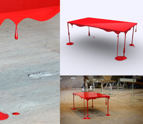 table peinture design