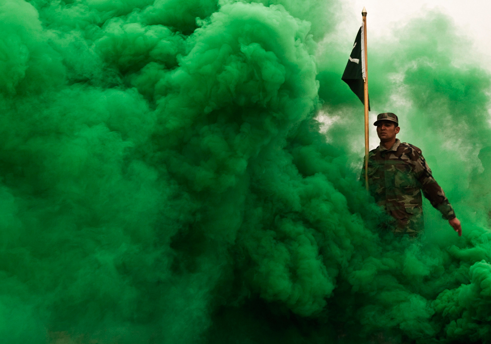 fumée verte-soldat