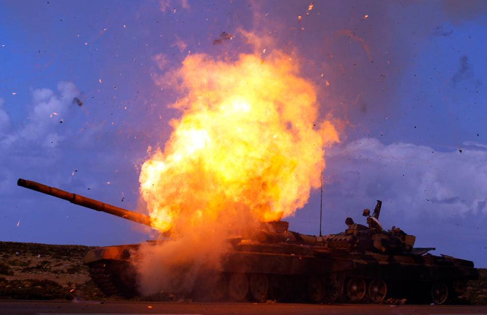 tank feu