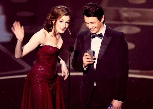 oscars-james franco-anne hathaway