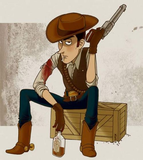 woody toy story cowboy