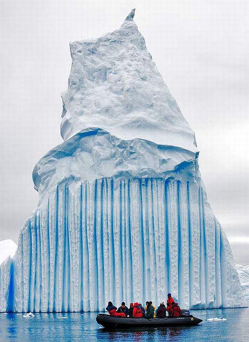 glacier visiteur