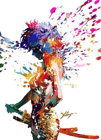 fille-peinture-couleur